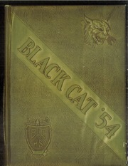 1954 Edition, Bay City High School - Black Cat Yearbook (Bay City, TX)