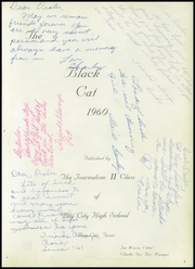 Page 5, 1960 Edition, Bay City High School - Black Cat Yearbook (Bay City, TX) online yearbook collection