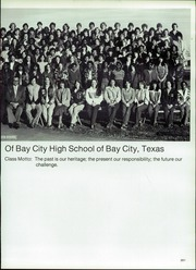 Page 205, 1981 Edition, Bay City High School - Black Cat Yearbook (Bay City, TX) online yearbook collection