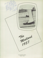 Page 5, 1957 Edition, Taylor High School - Mallard Yearbook (Taylor, TX) online yearbook collection