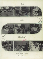 Page 5, 1959 Edition, Taylor High School - Mallard Yearbook (Taylor, TX) online yearbook collection