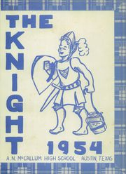 Page 5, 1954 Edition, McCallum High School - Knight Yearbook (Austin, TX) online yearbook collection
