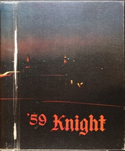 1959 Edition, McCallum High School - Knight Yearbook (Austin, TX)