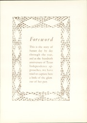 Page 9, 1933 Edition, Sunset High School - Sundial Yearbook (Dallas, TX) online yearbook collection