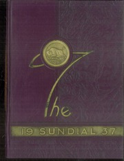 Sunset High School - Sundial Yearbook (Dallas, TX) online yearbook collection, 1937 Edition, Page 1
