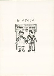 Page 7, 1937 Edition, Sunset High School - Sundial Yearbook (Dallas, TX) online yearbook collection