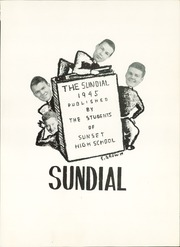 Page 5, 1945 Edition, Sunset High School - Sundial Yearbook (Dallas, TX) online yearbook collection