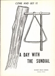 Page 5, 1951 Edition, Sunset High School - Sundial Yearbook (Dallas, TX) online yearbook collection