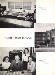 Page 8, 1951 Edition, Sunset High School - Sundial Yearbook (Dallas, TX) online yearbook collection