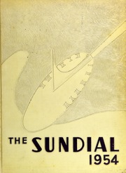 Page 1, 1954 Edition, Sunset High School - Sundial Yearbook (Dallas, TX) online yearbook collection