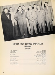 Page 10, 1954 Edition, Sunset High School - Sundial Yearbook (Dallas, TX) online yearbook collection