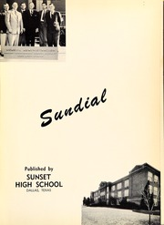 Page 5, 1954 Edition, Sunset High School - Sundial Yearbook (Dallas, TX) online yearbook collection