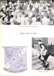 Page 10, 1956 Edition, Sunset High School - Sundial Yearbook (Dallas, TX) online yearbook collection