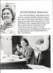 Page 7, 1974 Edition, Sunset High School - Sundial Yearbook (Dallas, TX) online yearbook collection