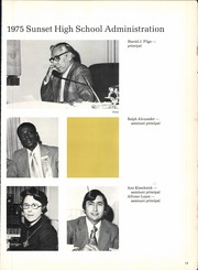 Page 17, 1975 Edition, Sunset High School - Sundial Yearbook (Dallas, TX) online yearbook collection