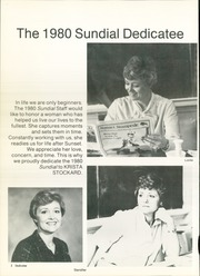Page 6, 1980 Edition, Sunset High School - Sundial Yearbook (Dallas, TX) online yearbook collection