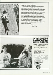 Page 237, 1986 Edition, Sunset High School - Sundial Yearbook (Dallas, TX) online yearbook collection