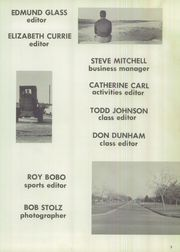 Page 7, 1960 Edition, Bellaire High School - Carillon Yearbook (Bellaire, TX) online yearbook collection