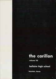 Page 5, 1962 Edition, Bellaire High School - Carillon Yearbook (Bellaire, TX) online yearbook collection