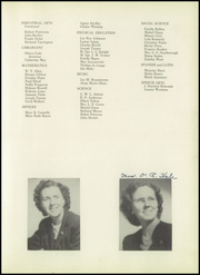 Page 13, 1952 Edition, John H Reagan Senior High School - Pennant Yearbook (Houston, TX) online yearbook collection