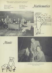 Page 15, 1953 Edition, John H Reagan Senior High School - Pennant Yearbook (Houston, TX) online yearbook collection