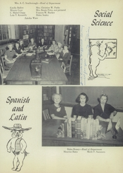 Page 17, 1953 Edition, John H Reagan Senior High School - Pennant Yearbook (Houston, TX) online yearbook collection