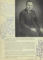 Page 8, 1953 Edition, John H Reagan Senior High School - Pennant Yearbook (Houston, TX) online yearbook collection