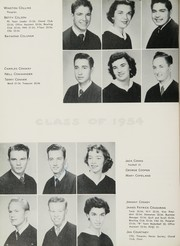 Page 38, 1954 Edition, John H Reagan Senior High School - Pennant Yearbook (Houston, TX) online yearbook collection