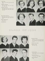 Page 40, 1954 Edition, John H Reagan Senior High School - Pennant Yearbook (Houston, TX) online yearbook collection
