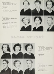 Page 48, 1954 Edition, John H Reagan Senior High School - Pennant Yearbook (Houston, TX) online yearbook collection
