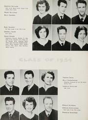 Page 62, 1954 Edition, John H Reagan Senior High School - Pennant Yearbook (Houston, TX) online yearbook collection