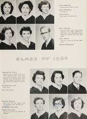 Page 69, 1954 Edition, John H Reagan Senior High School - Pennant Yearbook (Houston, TX) online yearbook collection