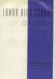 Page 5, 1941 Edition, Lamar High School - Orenda Yearbook (Houston, TX) online yearbook collection