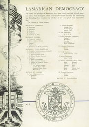 Page 8, 1941 Edition, Lamar High School - Orenda Yearbook (Houston, TX) online yearbook collection