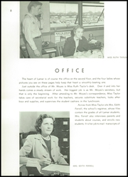 Page 12, 1947 Edition, Lamar High School - Orenda Yearbook (Houston, TX) online yearbook collection
