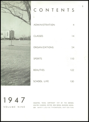 Page 7, 1947 Edition, Lamar High School - Orenda Yearbook (Houston, TX) online yearbook collection