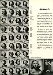 Page 108, 1949 Edition, Lamar High School - Orenda Yearbook (Houston, TX) online yearbook collection