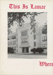 Page 6, 1958 Edition, Lamar High School - Orenda Yearbook (Houston, TX) online yearbook collection