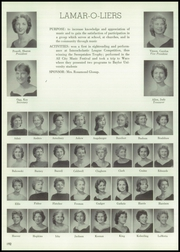 Page 196, 1960 Edition, Lamar High School - Orenda Yearbook (Houston, TX) online yearbook collection