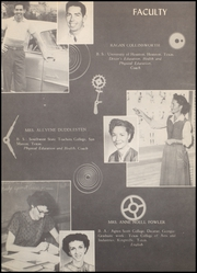 Page 14, 1955 Edition, Raymondville High School - Bearkat Yearbook (Raymondville, TX) online yearbook collection