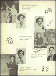 Page 14, 1956 Edition, Raymondville High School - Bearkat Yearbook (Raymondville, TX) online yearbook collection