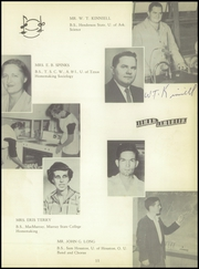 Page 15, 1956 Edition, Raymondville High School - Bearkat Yearbook (Raymondville, TX) online yearbook collection
