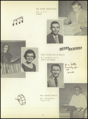 Page 17, 1956 Edition, Raymondville High School - Bearkat Yearbook (Raymondville, TX) online yearbook collection