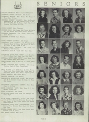 Page 33, 1947 Edition, Brackenridge High School - La Retama Yearbook (San Antonio, TX) online yearbook collection