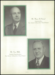 Page 15, 1950 Edition, Brackenridge High School - La Retama Yearbook (San Antonio, TX) online yearbook collection