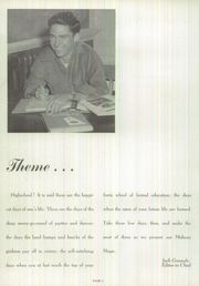 Page 12, 1954 Edition, Brackenridge High School - La Retama Yearbook (San Antonio, TX) online yearbook collection