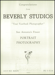 Page 274, 1955 Edition, Brackenridge High School - La Retama Yearbook (San Antonio, TX) online yearbook collection