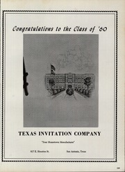 Page 293, 1960 Edition, Brackenridge High School - La Retama Yearbook (San Antonio, TX) online yearbook collection