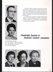 Page 47, 1968 Edition, Southwest High School - Dragonniere Yearbook (San Antonio, TX) online yearbook collection