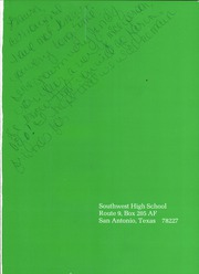 Page 5, 1985 Edition, Southwest High School - Dragonniere Yearbook (San Antonio, TX) online yearbook collection